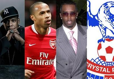 Jay-Z, Arsenal , P. Diddy et Crystal Palace