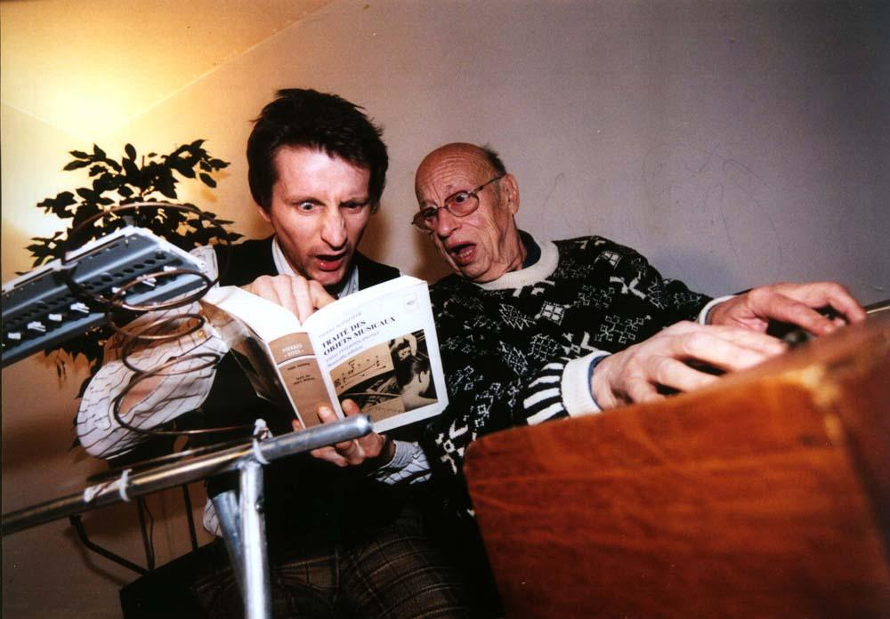 DAVID CHAZAM & JEAN-JACQUES PERREY::: Retour vers le futur IV