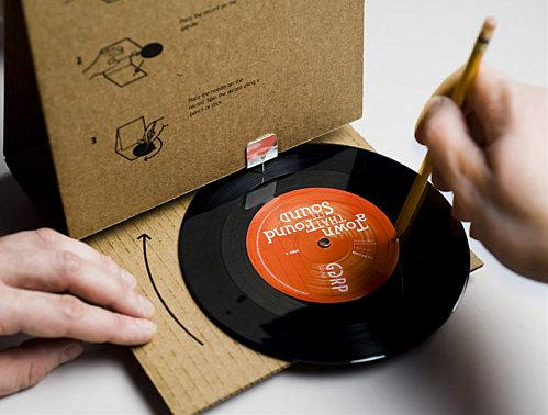 Cardboard record player 2