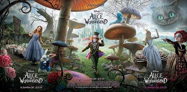Alice au pays des merveilles - Tim Burton - 3D