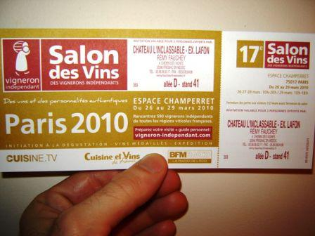 Le salon des vignerons ind pendants lire for Salon vigneron independant