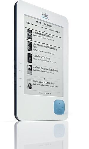 Kobo eReader : un logiciel indépendant et un reader à 149$