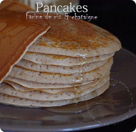 pancakes la farine de riz et chataignes paperblog. Black Bedroom Furniture Sets. Home Design Ideas