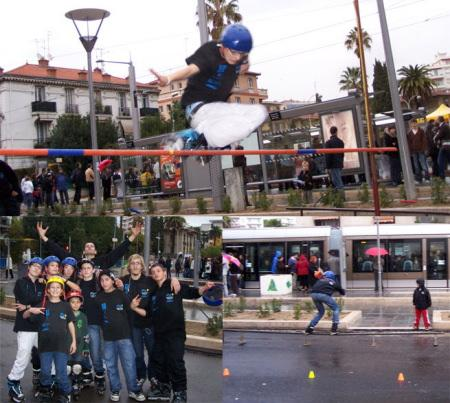 NRA inaugure le tram' de Nice