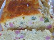 Cake Cornichons, printemps rentre cuisine..