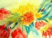 Fleurs Printemps Aquarelle