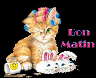 Bon matin &; bon courage