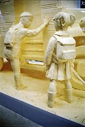 Sculptures sur beurre et margarine pâtissière