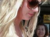 Britney Spears problèmes d'extensions cheveux