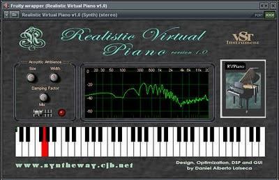 Virtual piano: Jouer au piano avec votre clavier d'ordi.