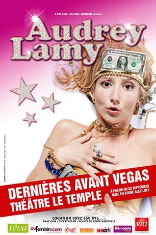 Audrey Lamy Dernière Avant Vegas affiche