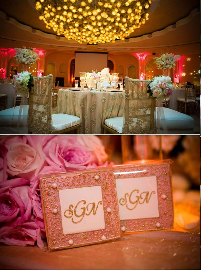Décoration de mariage glamour: rose - Paperblog