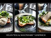 "Sandwich ""oeuf mayonnaise"" ""egg cress"" sans oeuf plv, vegan"