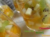 Salade Fruits d'hiver ou:Tartare verrine