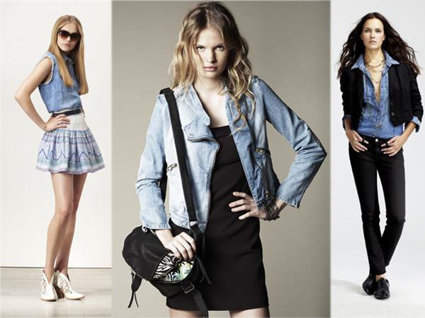 Comment porter le jean paperblog - Comment porter une chemise en jean femme ...
