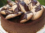 Cheesecake chocolat amaretti, décadent, mais bon...