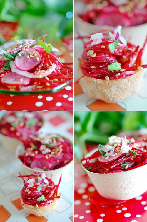 Salade de radis roses paperblog - Radis rose de chine ...