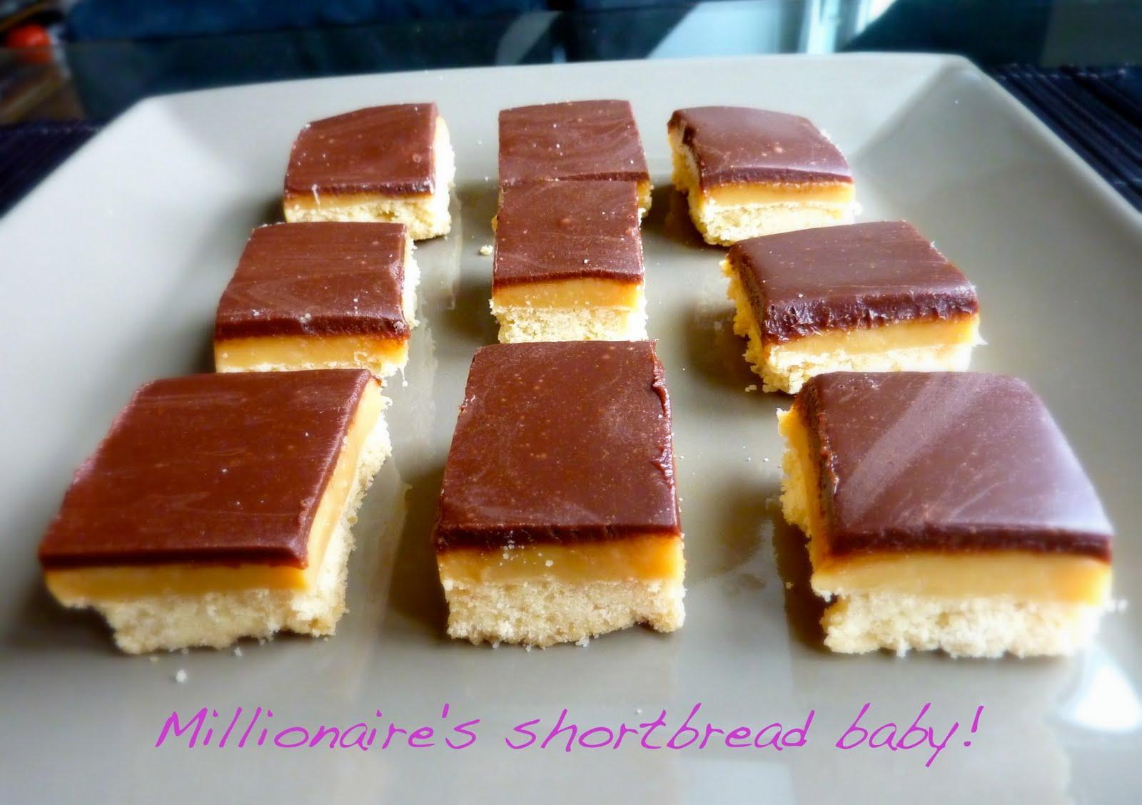 Mes millionaire's shortbread ou recette des twix !!
