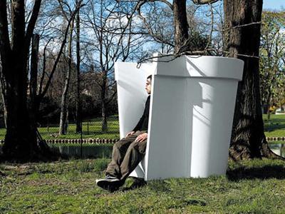 Fauteuil en pot g ant casamania paperblog - Pot geant exterieur ...