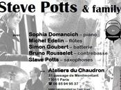 Steve Potts Family avril l'Atelier Chaudron