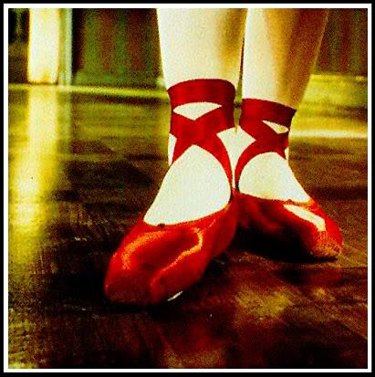 Anne Sexton red shoes