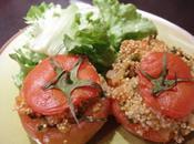 Tomates farçies Boulgour menthe fraiche