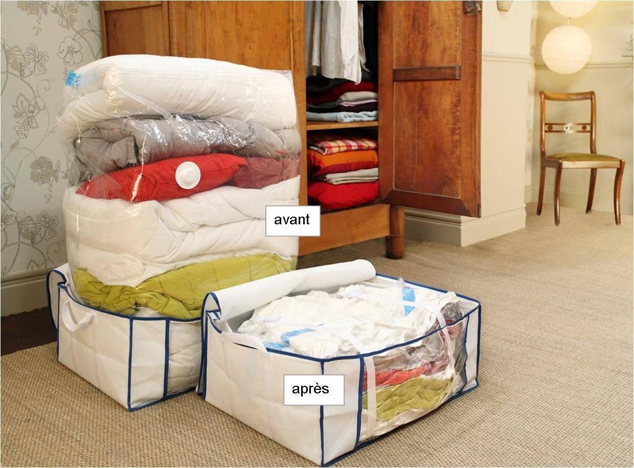 astuce maison le sac de rangement d couvrir