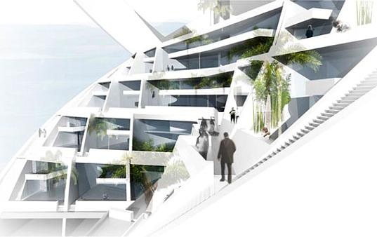 Un tour ecologique alliant nergie renouvelable et espaces for Espace vert tours