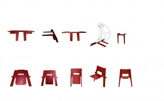 une semaine un designer marie aurore stiker m tral paperblog. Black Bedroom Furniture Sets. Home Design Ideas