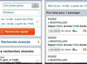L'application Iphone Itouch jour voyages-sncf