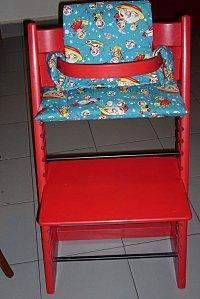 coussin de chaise tripp trapp voir. Black Bedroom Furniture Sets. Home Design Ideas