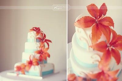 Une d co de mariage th me les turquoise orange corail for Decoration 50 ans homme