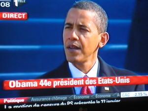 Discours d'investiture de Barack OBAMA