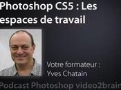 Gérer espace travail dans Photoshop
