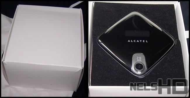 {Alcatel OT-808, Box Opening ::