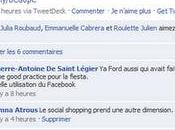 social shopping prend autre dimension grâce Facebook