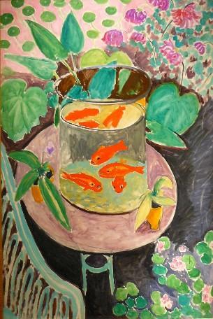 Dessiner ou peindre des animaux les poissons et for Ou trouver des poissons rouges