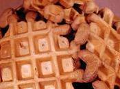 Gaufres chocolat farines sans lait