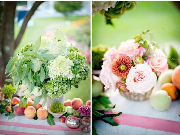 Stunning Une décoration de table inspirée du jardin 600 x 451 · 44 kB · jpeg