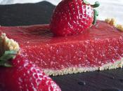 Tarte jelly fraises
