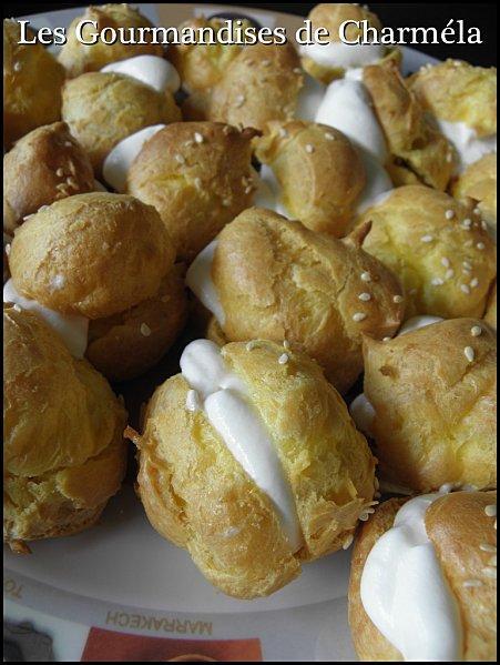 Petits choux et espuma de parmesan paperblog for Repas sympa entre amis