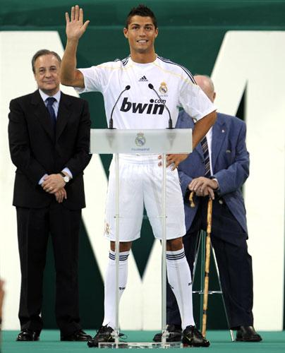 Cristiano Ronaldo - séances d'entraînements