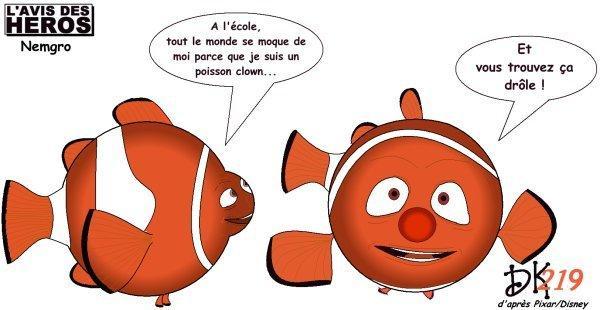 L'avis des Héros : Nemo (le poisson clown) | À Voir