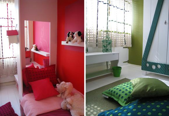 Ontwerpduo How To Split A Kids Room In Two Paperblog