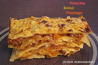 Lasagnes au boeuf