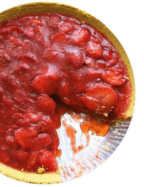 Tarte aux fraises d'été