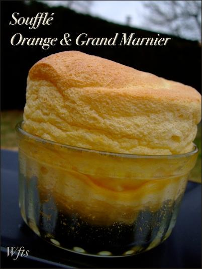 - SOUFFLÉS ORANGE ET GRAND MARNIER -