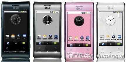 Mobile phone Cellphone and LG Electronic devices Article Taste