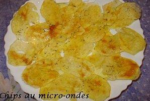 Chips au micro ondes paperblog for Chips betterave micro onde