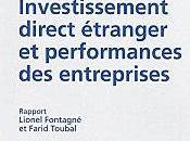Investissement direct étranger performances entreprises